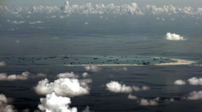 Mark Collins – South China Sea Update: Vietnam Building; Philippines Smacking US