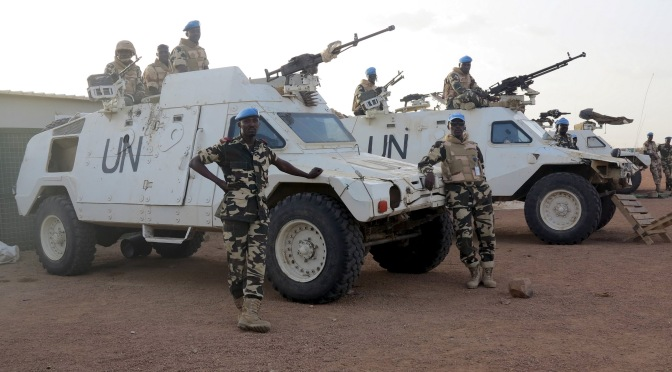 Mark Collins – Canadian Government's Peacekeeping Heart: With France in Africa it Seems