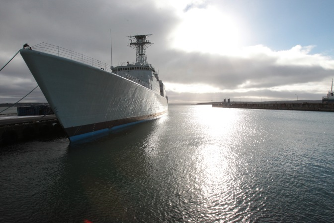 Mark Collins – Irving Working with BAE Systems: Implications for RCN Canadian Surface Combatant?