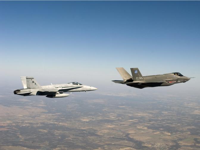 Mark Collins – New RCAF Fighter: Debate on F-35 vs Rest, esp. Super Hornet