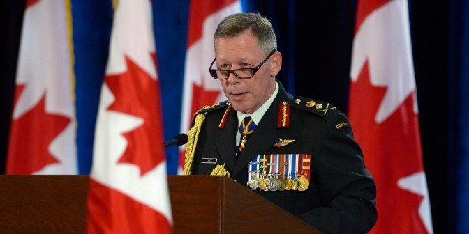 "Mark Collins – ""Part 2: Interview with Gen. Jonathan Vance, chief of [Canadian] defence staff"""