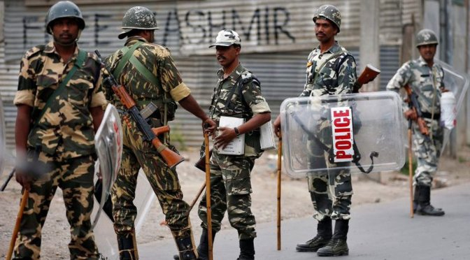 Mark Collins – Oh, Oh! Indian Troops Raid Pakistani Kashmir