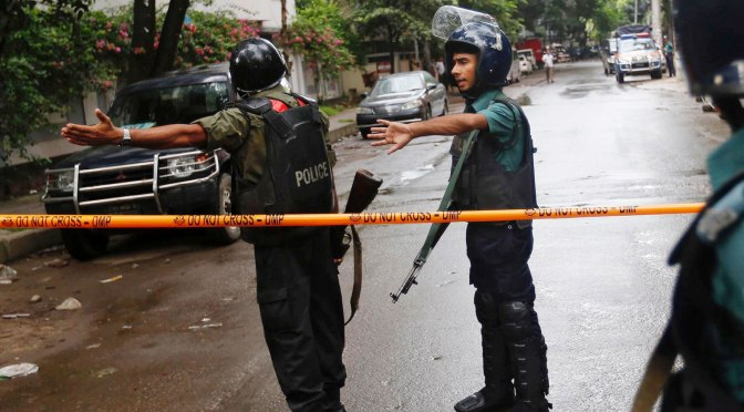 Mark Collins – ISIS Dhaka Massacre: Bangladeshi-Canadian's Bloodthirsty Notes from Beyond the Grave