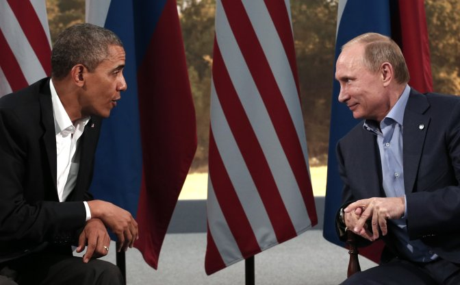 Mark Collins – Syria: POTUS be Prudent vs Assad and Bad Vlad