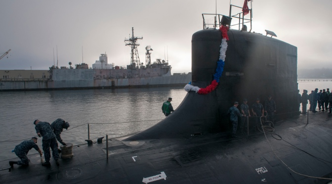 Mark Collins – US Navy's Seawolf Nuclear Attack Subs (SSN) and the Arctic
