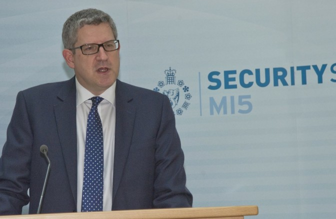 Mark Collins – MI5 Chief Highlights Big Bear Spooky and Cyber Threats, Jihadis
