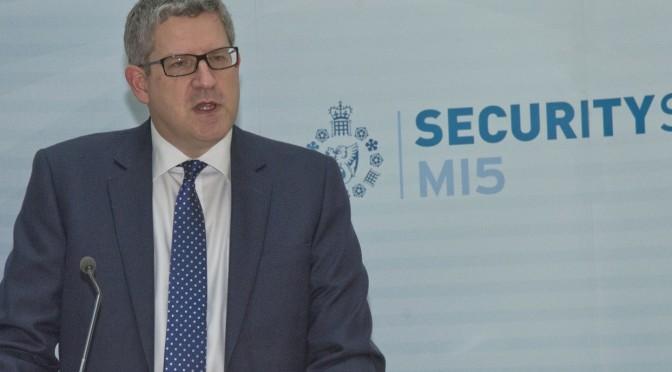 Mark Collins – MI5 Chief Highlights Big Bear Spooky and Cyber Threats, Jihadis