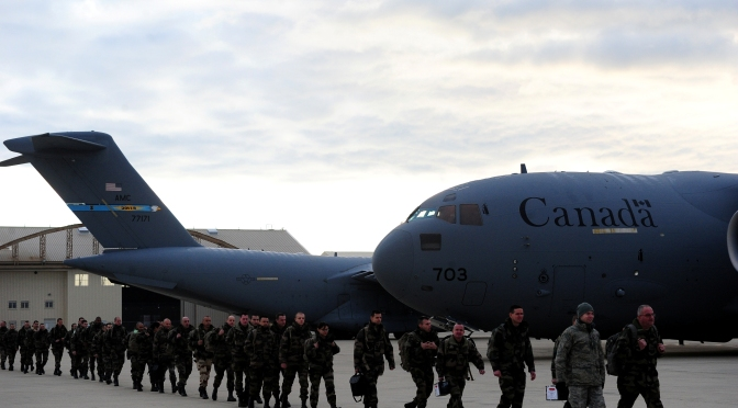 """Mark Collins – Canada and UN """"Peace Operations"""": Letter of Mine in Globe and Mail"""