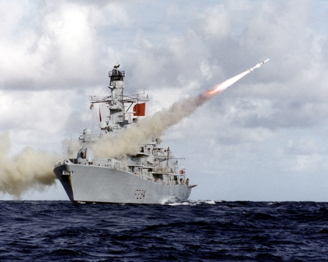 Mark Collins – The Incredible Shrinking Guns Only Royal Navy