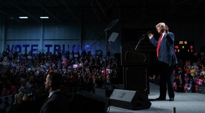 Mark Collins – Der Untergang des Abendlandes, Trump v. Clinton Section