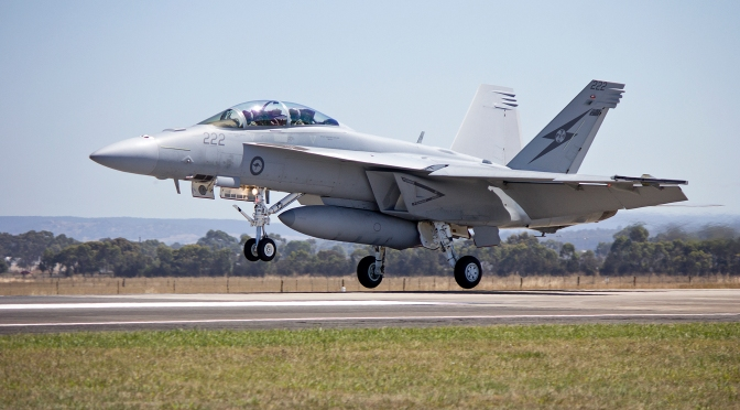 Mark Collins – Now Likely? Canada to Sole-Source Some Super Hornets for RCAF After All?
