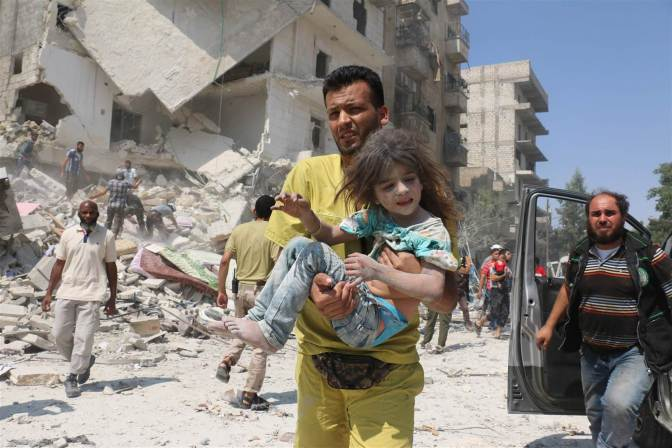 "Mark Collins – ""The fall of Aleppo shows us exactly what we have become"""