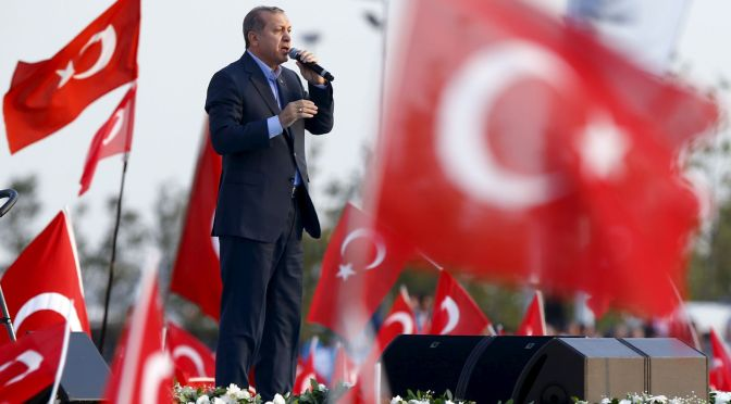Mark Collins – Sublime Erdogan the Magnificent vs the Kurds (plus ISIS/Syria)