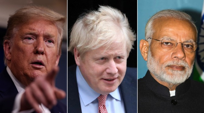 COVID-19, Dystopia, or, the US, the UK and the Anglosphere…and India