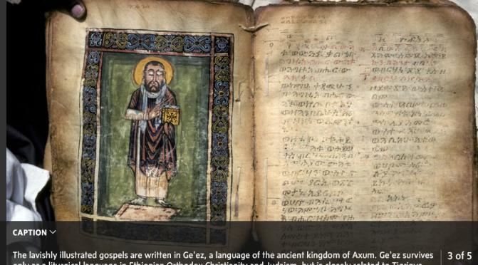 Ancient Christian Treasures at Risk in Tigray, Ethiopia