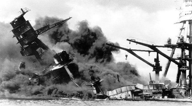 Pearl Harbor, or, in December 1941 FDR Wanted War with Nazi Germany not Japan